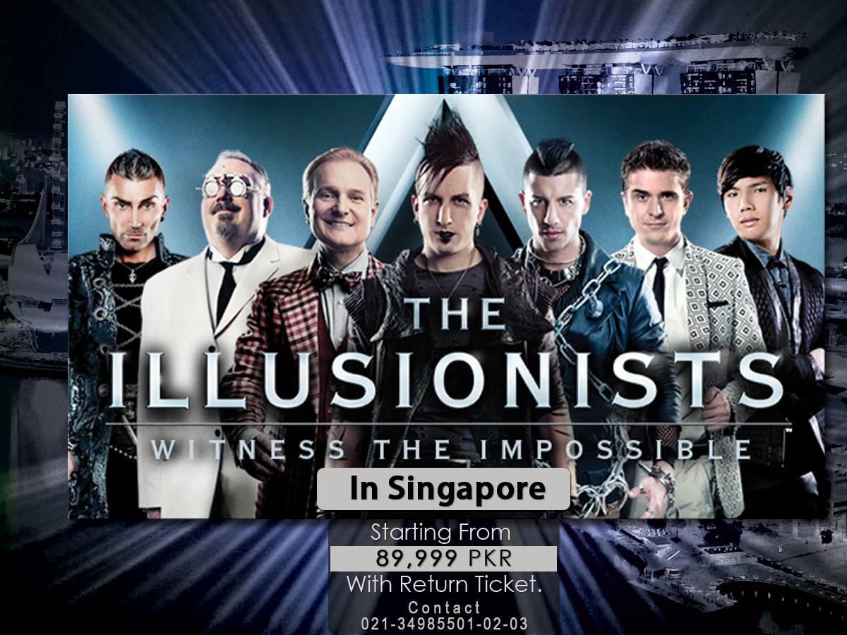 Singapore Illusionist Tour Package