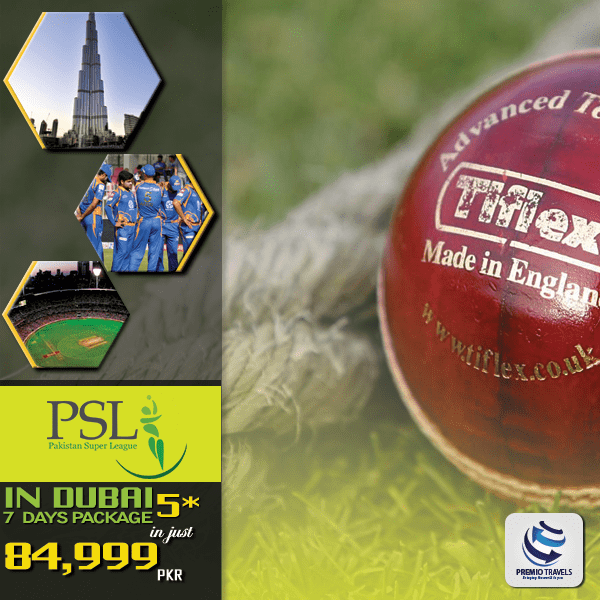 PSL PACKAGE-7 Days 5 *