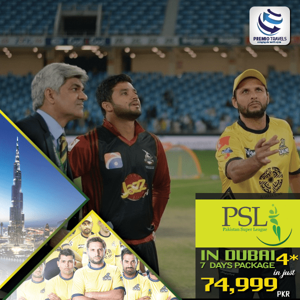 PSL PACKAGE-7 Days 4 *
