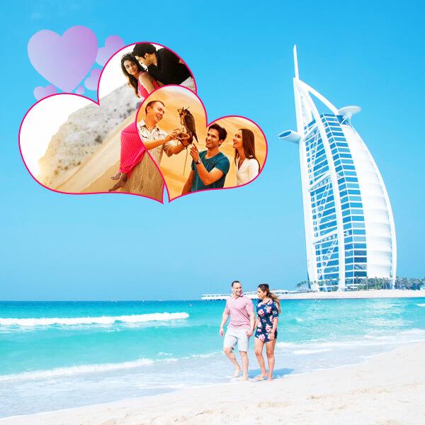 Dubai Honeymoon Holiday Travel and Tour Package