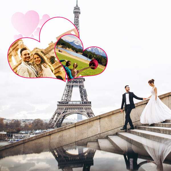 Europe Honeymoon Holiday Travel and Tour Package