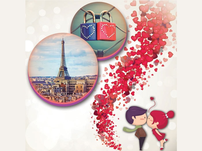 Valentine In Europe Holiday Travel and Tour Package