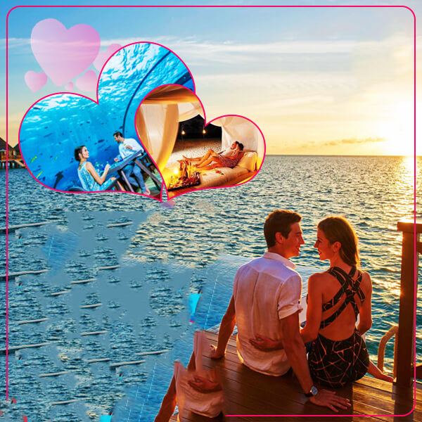 Maldives Honeymoon Holiday Travel and Tour Package