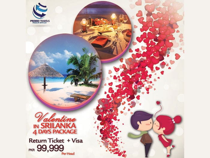 Valentine In Srilanka Holiday Travel and Tour Package