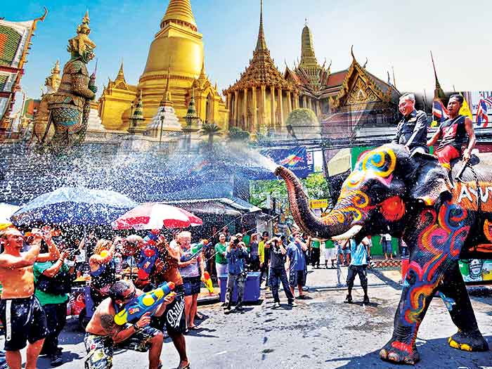 Thailand Songkran Water Festival Holiday Travel and Tour Package 2017