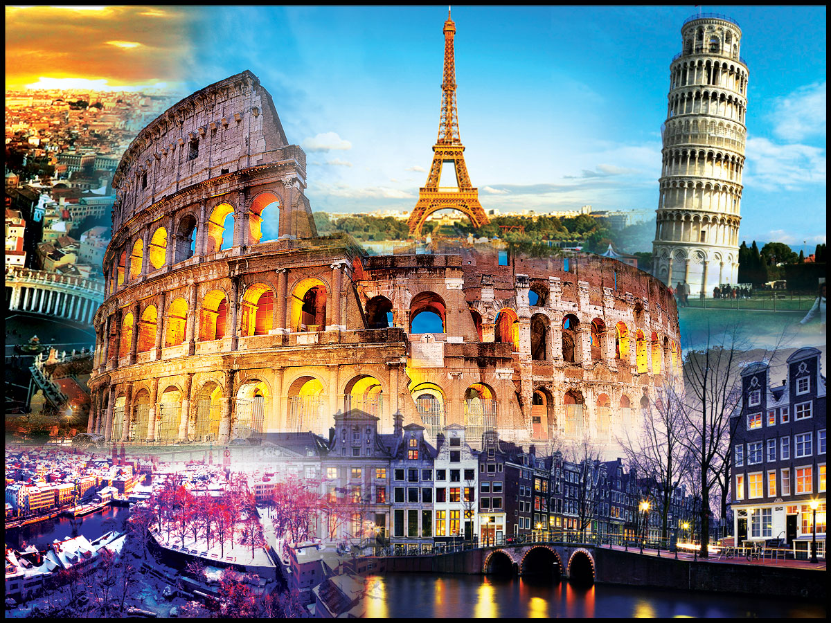 Europe New Year Holiday Travel and Tour Package