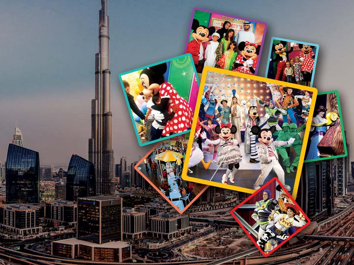 Dubai Mickeys Music Festival Travel & Tour Package