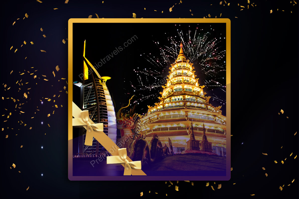 Asia New Year Holiday Travel and Tour Package 2018-19