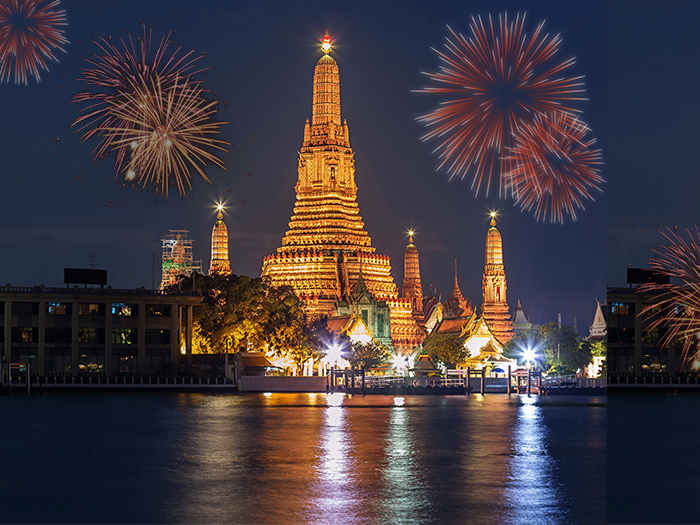 5 Star Thailand New Year Holiday Travel and Tour Package 2017-2018