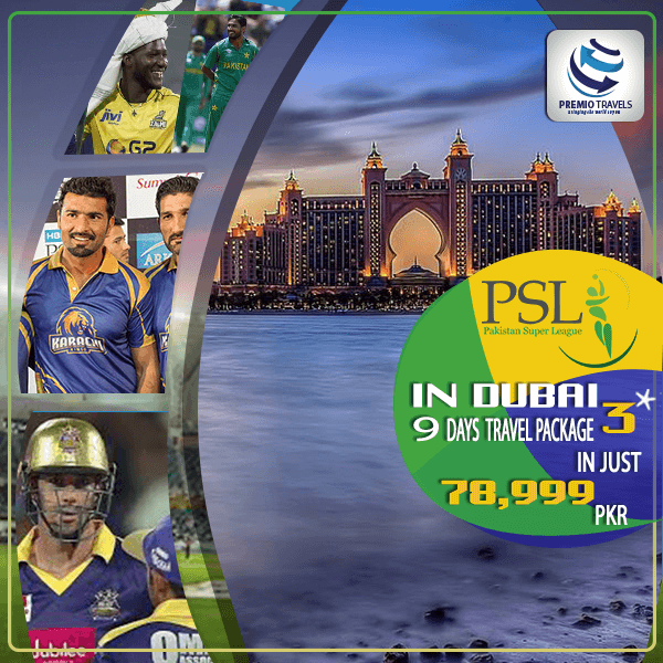 PSL 3*** Holiday Travel and Tour Package for 9 days
