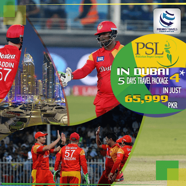 PSL 4**** Holiday Travel and Tour Package for 5 days