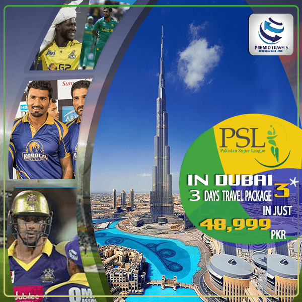 PSL 3*** Holiday Travel and Tour Package for 3 days