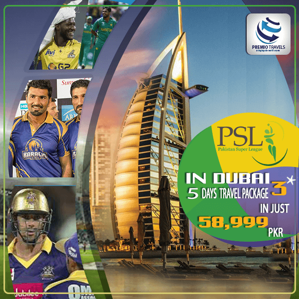 PSL 3*** Holiday Travel and Tour Package for 5 days