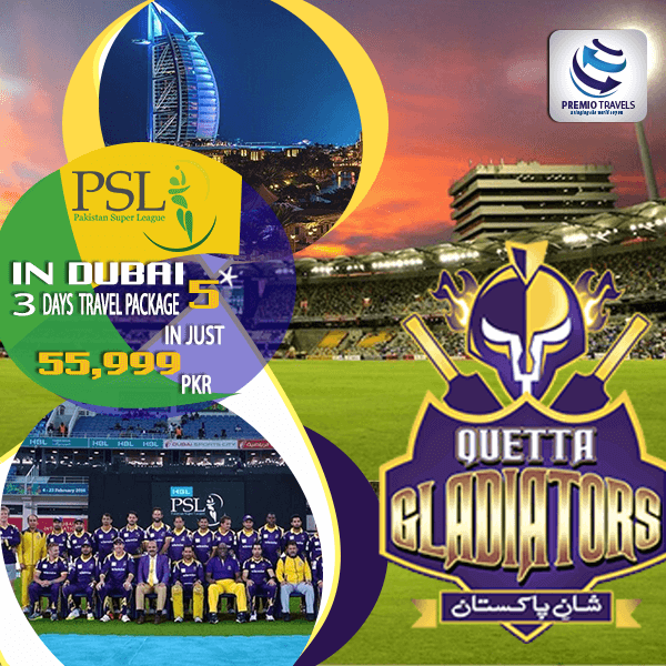 PSL 5***** Holiday Travel and Tour Package for 3 days