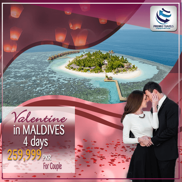Valentine In Maldives Holiday Travel and Tour Package 2018