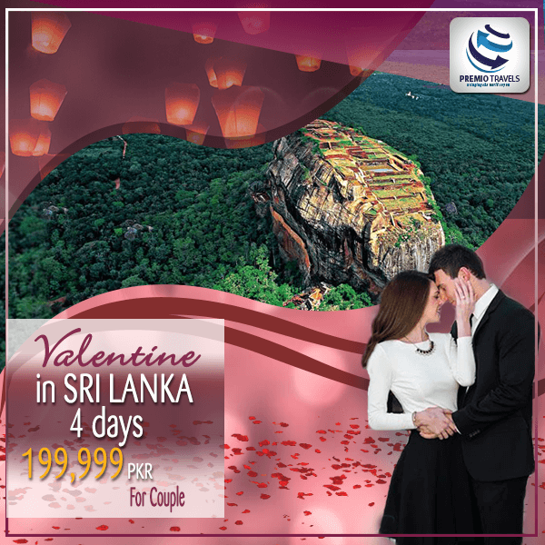 Valentine In Srilanka Holiday Travel and Tour Package 2018