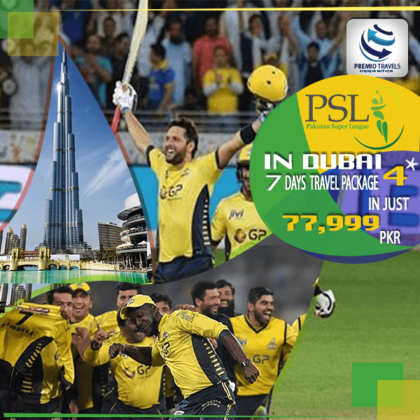 PSL 4**** Holiday Travel and Tour Package for 7 days