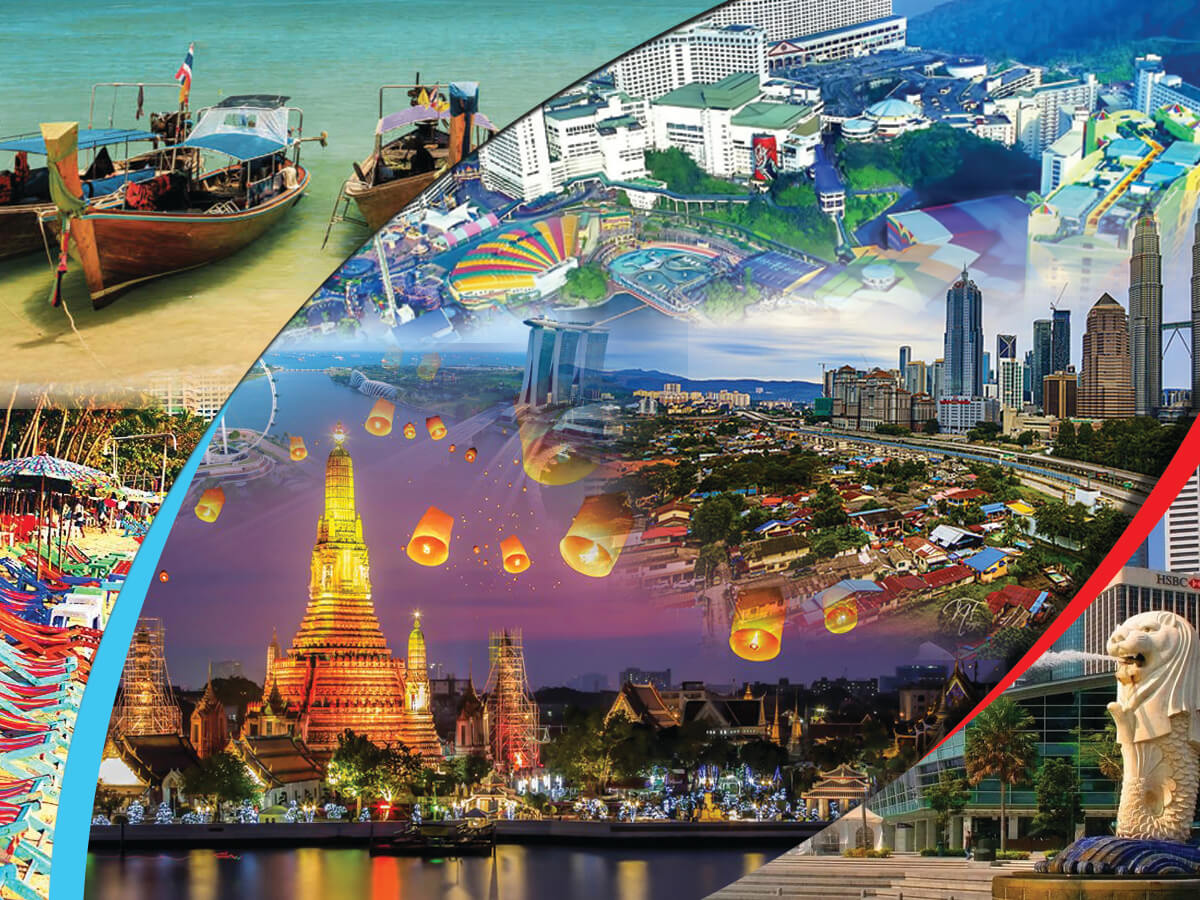 Asia Trio 3 Countries 3 Cities Holiday Travel and Tour Package.
