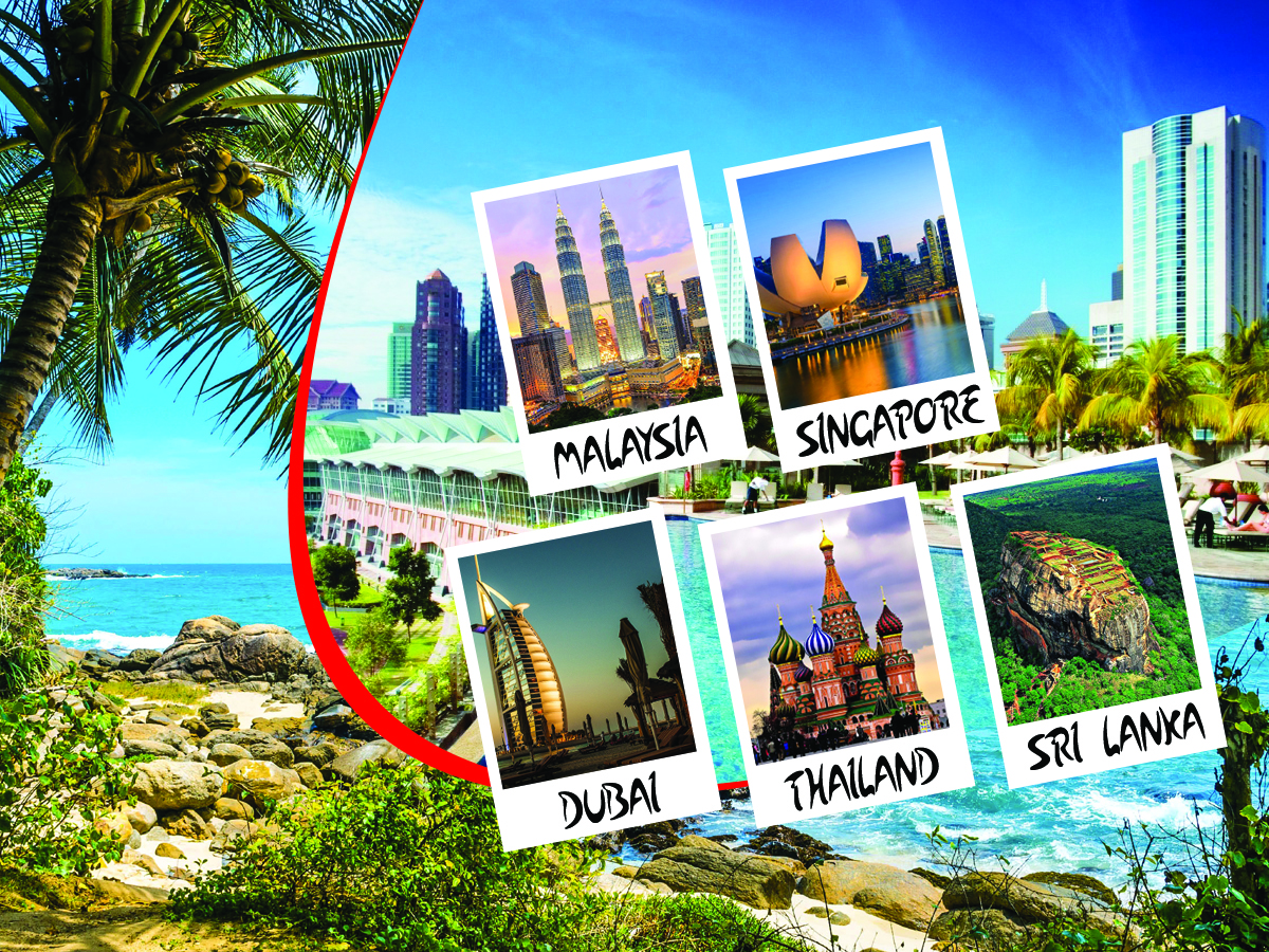Five Countries Summer Holiday Travel and Tour Package