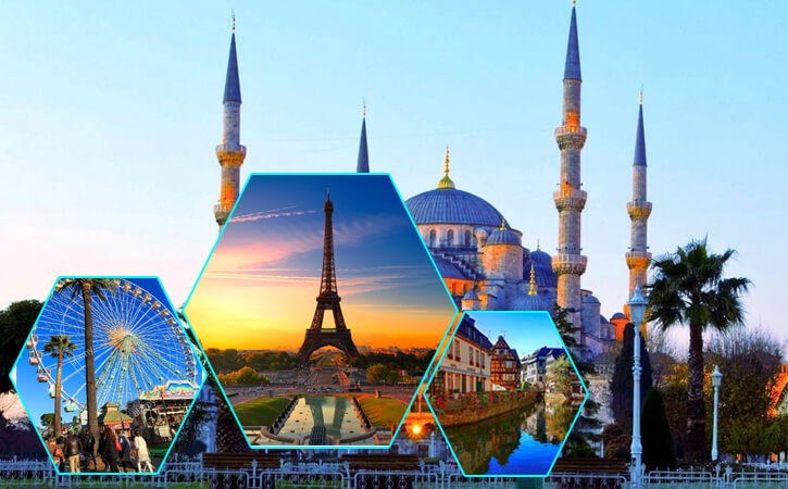 Europe & Turkey Summer Holiday Travel and Tour Package