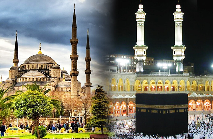 5 Star Umrah And Turkey For 10 Days