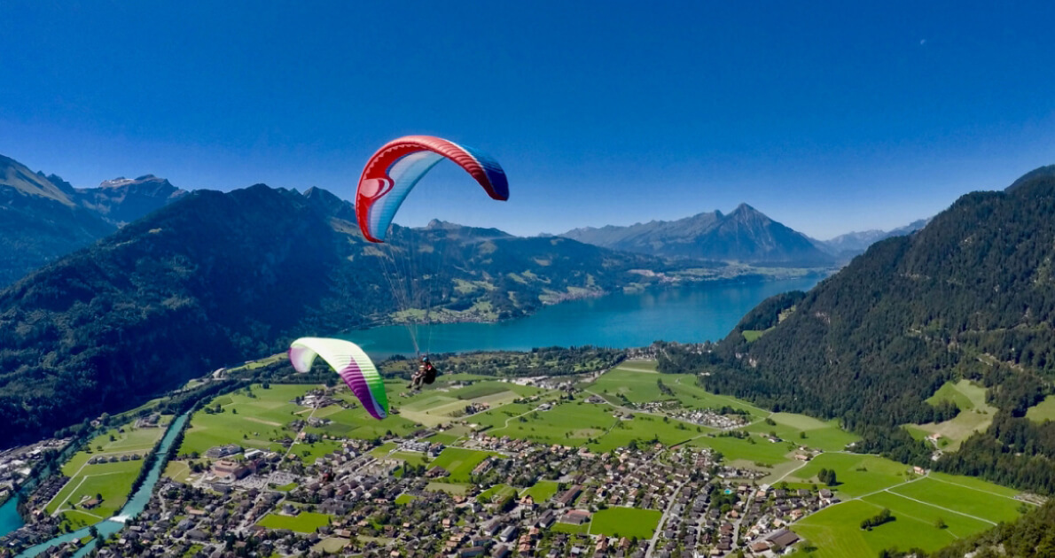 Switzerland Interlaken (Paragliding) Travel & Tour Package