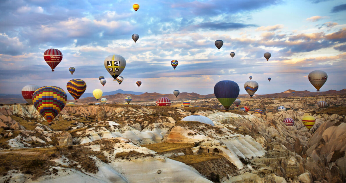 Turkey Cappadocia (Hot Air Balloon) Travel & Tour Package