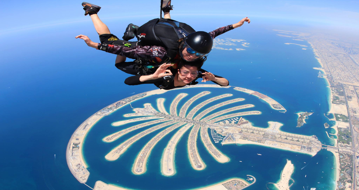 Dubai (SKYDIVING AND JETOVATOR) Travel & Tour Package
