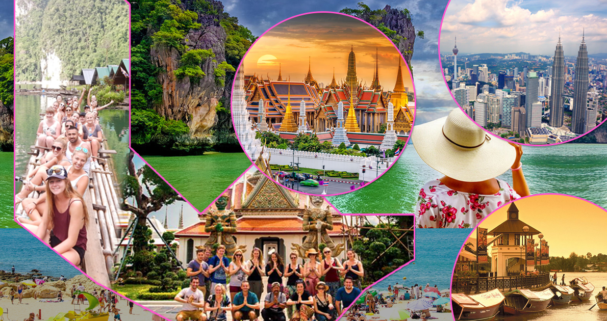 Super Thailand Malaysia Group Holiday Travel and Tour Package