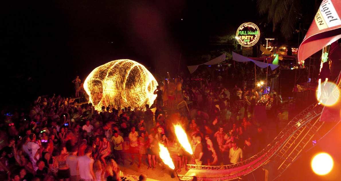 Thailand Full Moon Party Holiday Travel & Tour Package