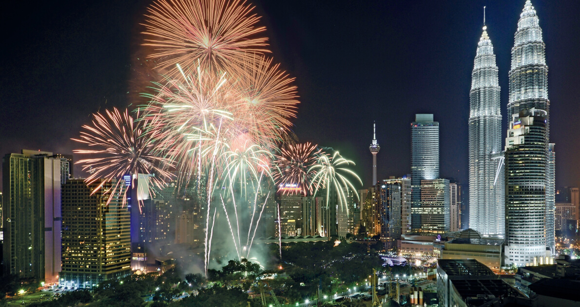 3 Star Malaysia New Year Holiday Travel & Tour Package