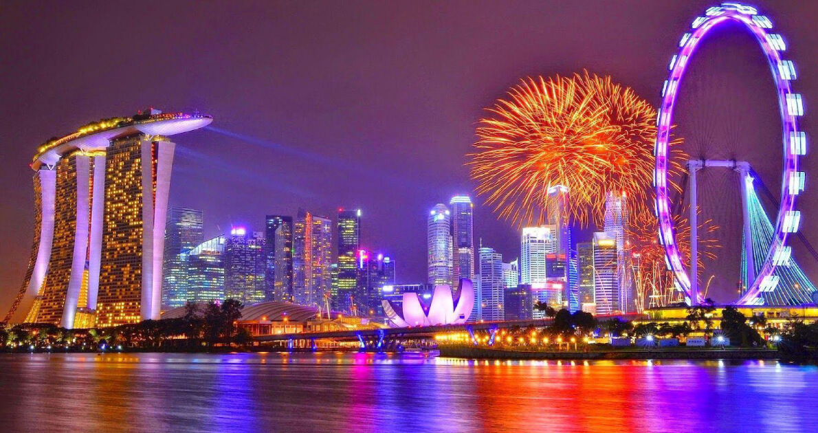 3 Star Singapore New Year Holiday Travel & Tour Package