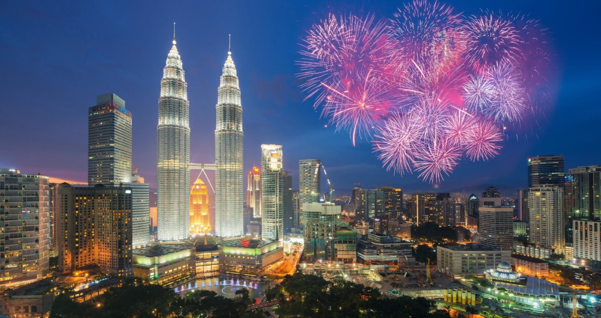 4 Star Malaysia New Year Holiday Travel & Tour Package