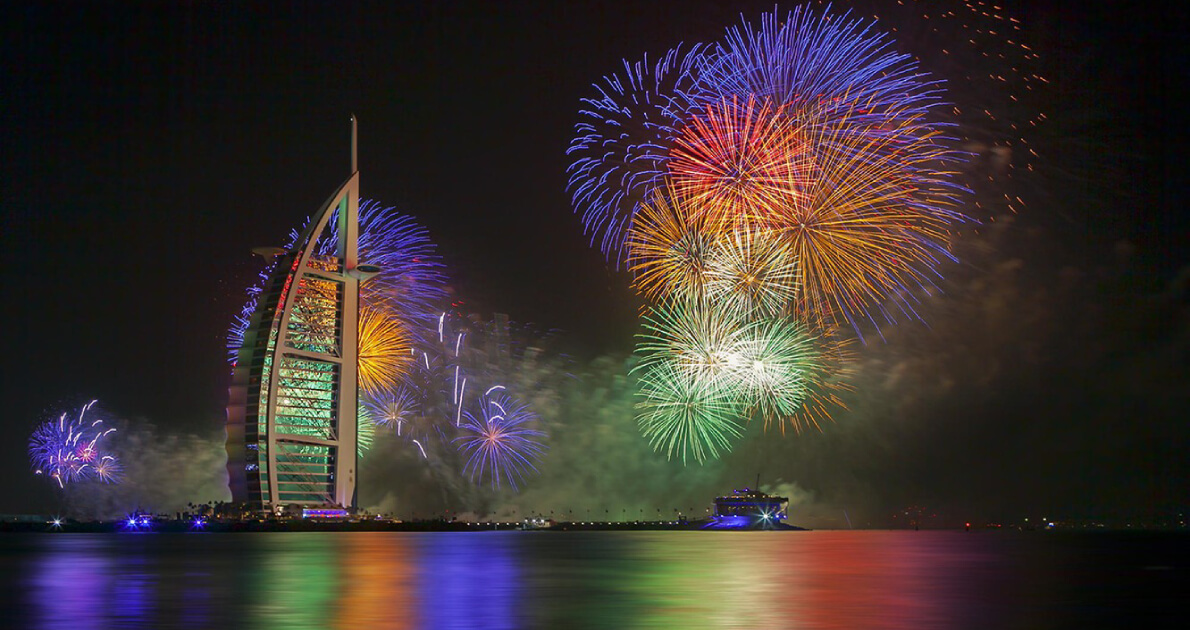 5 Star Dubai New Year Holiday Travel & Tour Package