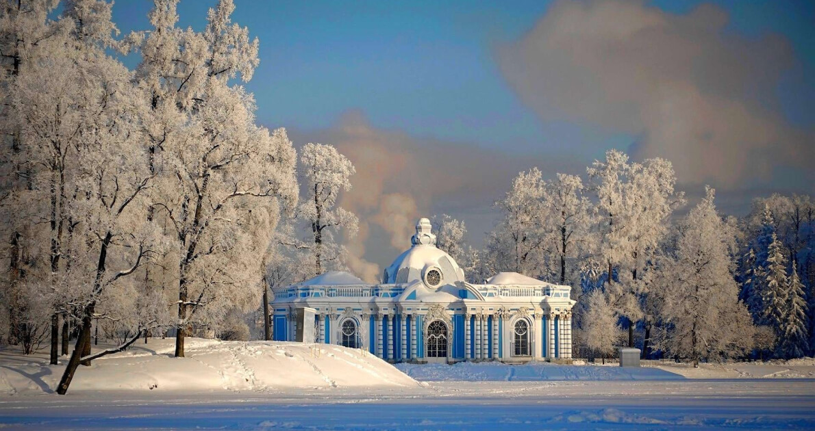 7 Days In Moscow+St. Petersburg Holiday Travel and Tour Package