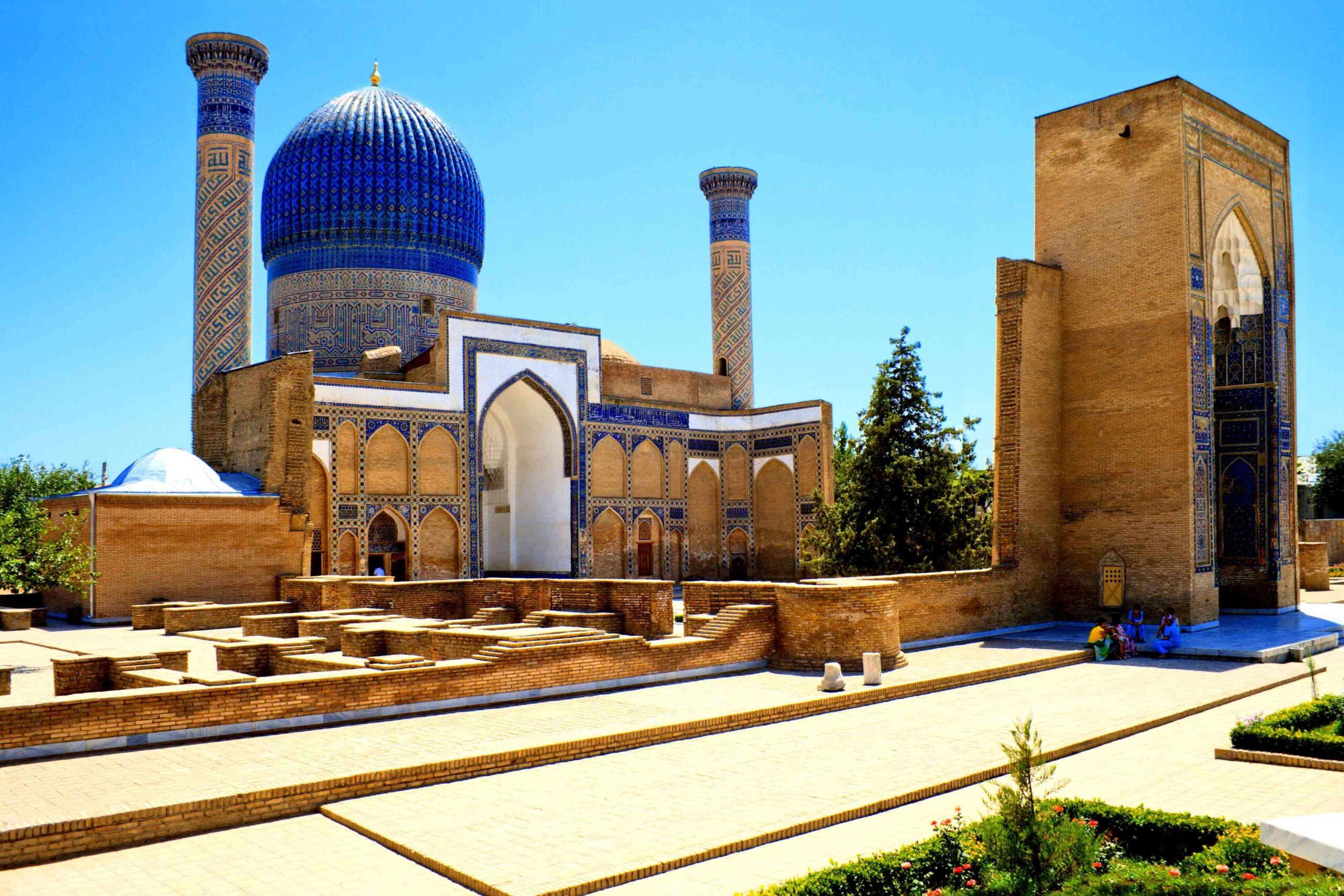 UZBEKISTAN (TASHKANT + SAMARKAND) Holiday Travel & Tour Package